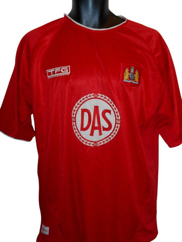 Bristol City 2004-05 home shirt Large mens #S790.
