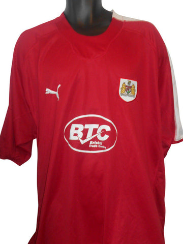 Bristol City 2006-07 home shirt xxxl mens 3XL #S152-Classic Clothing Crib