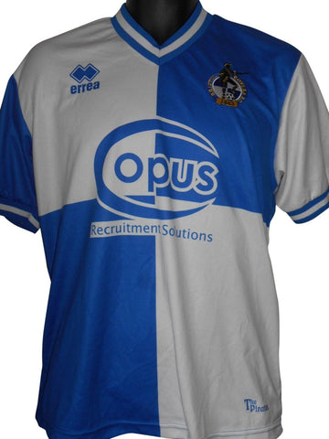 Bristol Rovers 2012-13 home shirt medium mens #S566.