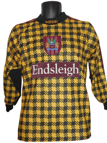 Burnley 1998 Goalkeeper shirt Xl Boys #S637.-Classic Clothing Crib