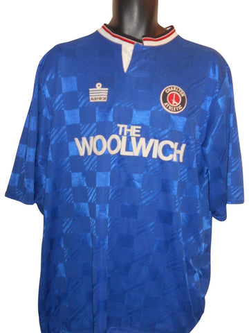 Charlton Athletic 1990-91 Away shirt Xl mens #S893.-Classic Clothing Crib