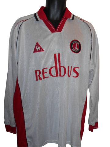 Charlton Athletic 2000-02 Long Sleeves Away shirt Xl mens #S892.-Classic Clothing Crib
