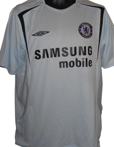 Chelsea 2005-06 away shirt Large mens #S819.