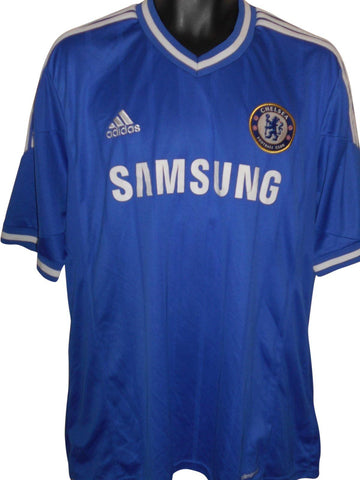 Chelsea 2013-14 home shirt XL mens #S817.