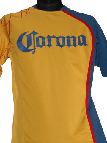 Club America 2007-08 Home shirt Small Mens #S384.