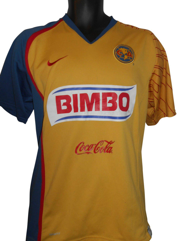 new style 9a13e 956dc Club America 2007-08 Home shirt Large Mens #S302.