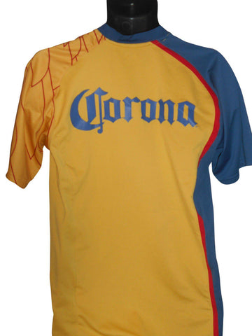 Club America 2007-08 Home shirt Large Mens #S302.