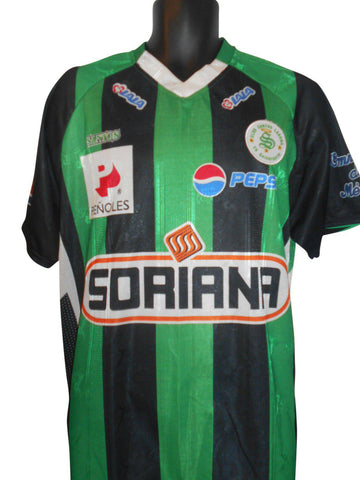 Club Santos Laguno 2008-09 Home shirt XL Mens #S303.-Classic Clothing Crib