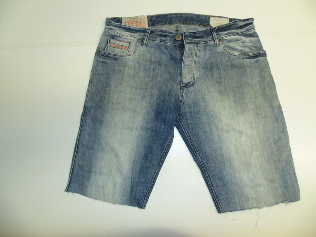 03bb49939e32f4 Mens Superdry jeans shorts 34
