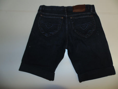 "Mens Diesel jeans shorts 34"" - dark blue denim festival #3341 RECKFLY"