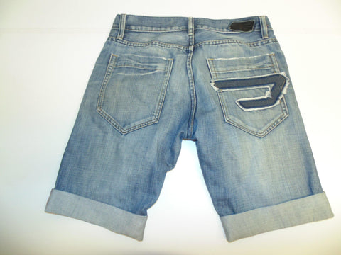 "Mens Diesel jeans shorts 30"" - blue denim festival #322-Classic Clothing Crib"