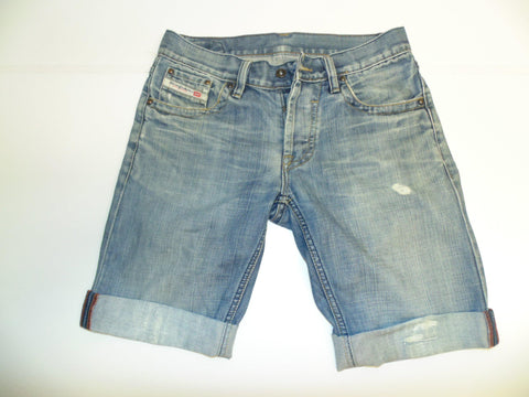 "Mens Diesel jeans shorts 30"" - blue denim festival #3222"