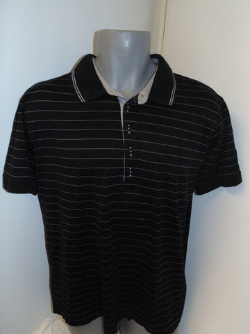 Hugo Boss black polo shirt xl mens -  #VS007