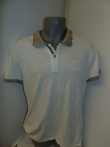 Henri Lloyd white polo shirt large mens, URBAN FIT -  #VS002