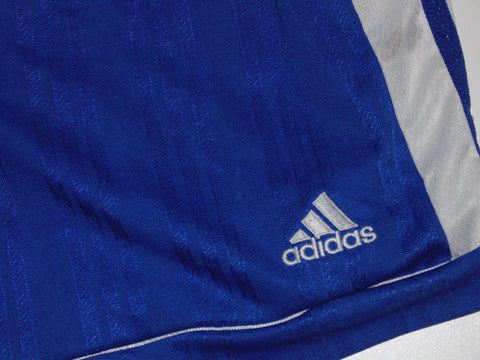 "Adidas vintage 90's polyester blue shorts large 34"" - #VS008"