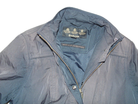 VGC Ladies Barbour brown 2tone lightweight waterproof jacket. SIZE 12 DLJ016-Classic Clothing Crib