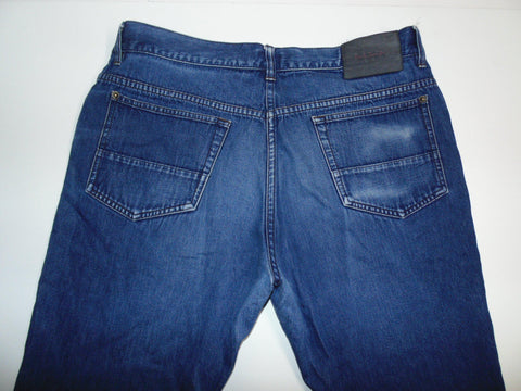 "Paul Smith blue denim jeans W 34"" x L 28"" mens DLB038 2"