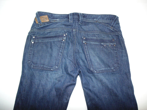 "Diesel Busky dark blue denim jeans W 32"" x L 28"" mens WASH 008FC_Stretch DLB63-Classic Clothing Crib"