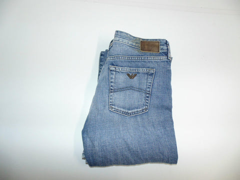 "Armani blue denim jeans w 27"" x L 32"" ladies Indigo 004 Series DLA81"