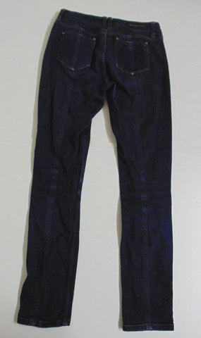 Burberry London indigo dark blue denim jeans size 8 ladies Mileham DLB249-Classic Clothing Crib
