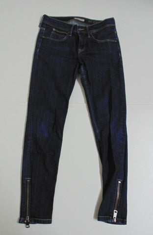 Burberry Brit indigo dark blue denim jeans ladies size 10 Burrington skinny DLB250-Classic Clothing Crib