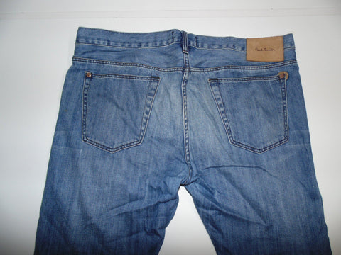 "Paul Smith blue lightweight denim jeans W 34"" x L 29"" mens IT 36 DLB982"