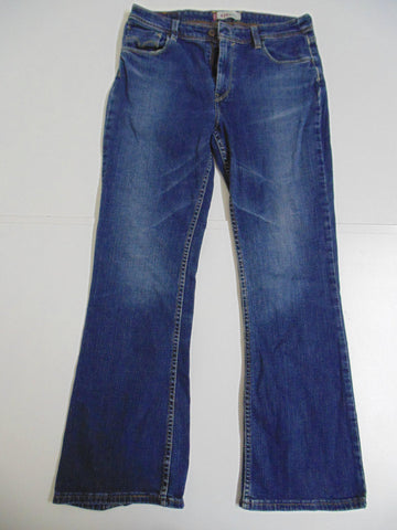 "Levi's 629 dark blue denim jeans W 30"" x L 30"" Ladies bootcut DLB342-Classic Clothing Crib"