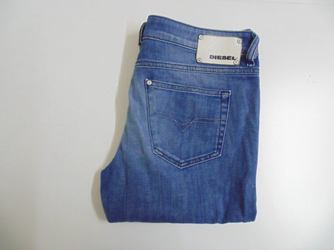 "Diesel Ronhary blue denim jeans W 32"" x L 30"" Ladies WASH 008IG_STRETCH DLB3301"