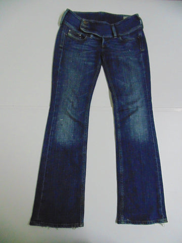 "Diesel Cherock dark blue denim jeans W 28"" x L 30"" Ladies DLB326-Classic Clothing Crib"