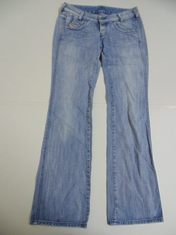 "Diesel Ryoth light blue denim jeans W 30"" x L 32"" Ladies DLB3246"
