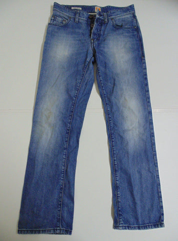"Hugo Boss blue denim jeans w 32"" x L 32"" mens Orange31 Everyday DLJ146"