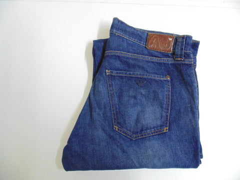 "Armani dark blue denim jeans W 38"" x L 32"" mens DLB2701"