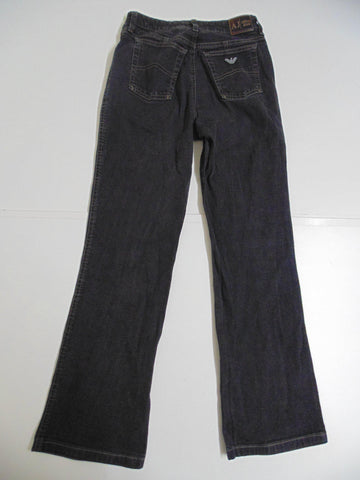 "Armani black denim jeans size 8, waist 26"" Ladies DLB2723"