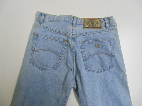 "vintage 90's Armani light blue jeans W 28"" x L 31"" mens True Blues DLB2802"