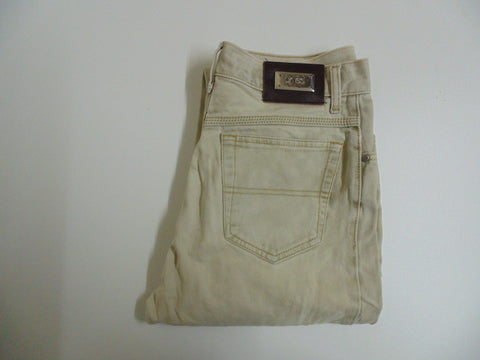 "Hugo Boss Alabama beige denim jeans W 28"" x L 29"" mens IT DLB2681"