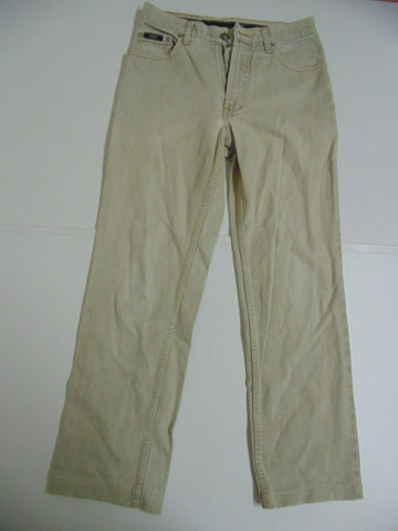 "Hugo Boss Alabama beige denim jeans W 28"" x L 29"" mens IT DLB2686"