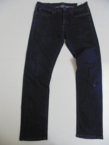 "Belstaff indigo dark blue denim jeans W 33"" x L 33"" mens stretch fit regular leg DLB2556"