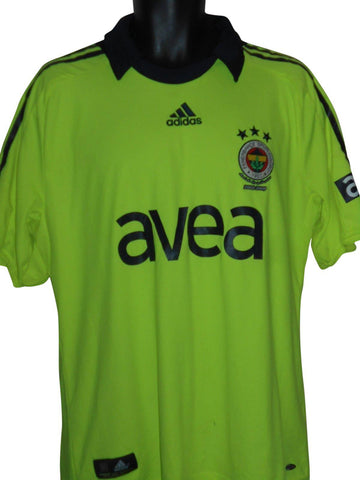 Fenerbahce 2008-09 Away shirt Large Mens #S873.