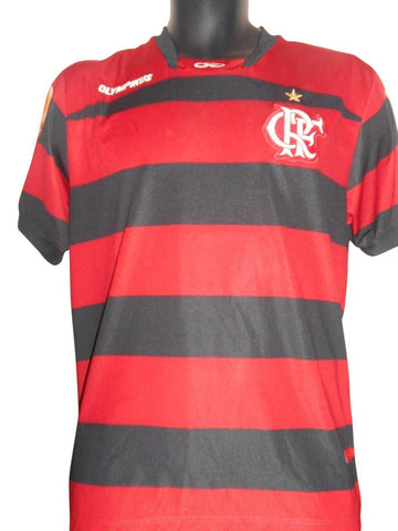 Flamengo Brazil 2011-12 Home shirt Medium Mens #S768.