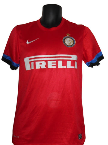 Inter Milan 2012-13 Away shirt Small Mens #S571.