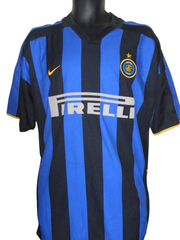 Inter Milan 2002-03 Home shirt XL Mens #S572.