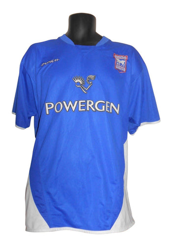 Ipswich Town 2003-05 home shirt XL mens GODDEN 16 #S755.