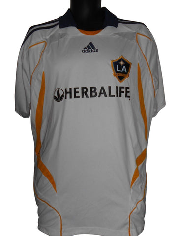 LA Galaxy 2007-08 Home shirt Large Mens BECKHAM 23 #S713.