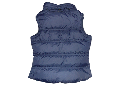 Ladies Jack Wills blue quilted puffer gilet bodywarmer jacket - size 8 - VSJ103-Classic Clothing Crib