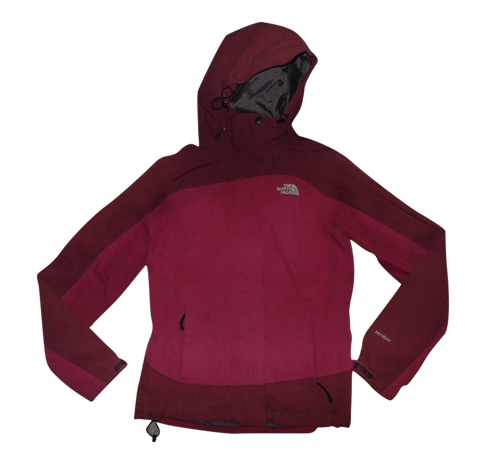 Ladies The North Face Hyvent red waterproof rain jacket size xs - VSD106-Classic Clothing Crib