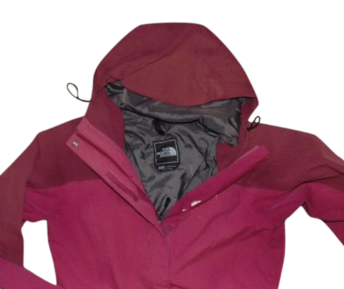 Ladies The North Face Hyvent red waterproof rain jacket size xs - VSD106 Ladies  The North Face Hyvent red waterproof rain jacket size xs - VSD106 d709f3589
