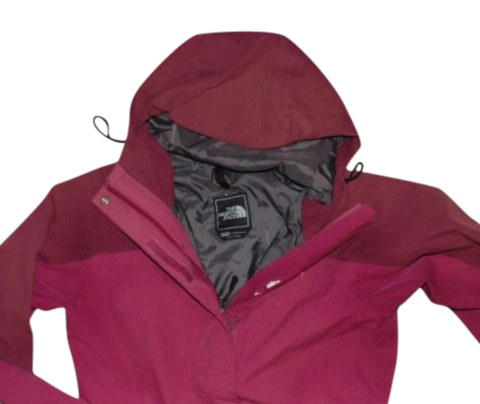 Ladies The North Face Hyvent red waterproof rain jacket size xs - VSD106
