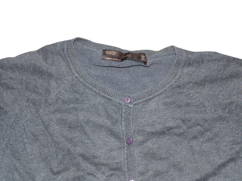 Ladies ZARA grey cardigan size Large - VSE179.