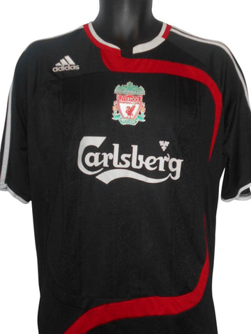 Liverpool 2010-11 3rd shirt large mens #S161.