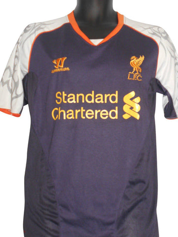 Liverpool 2012-13 3rd shirt small mens GERRARD 8 #S209